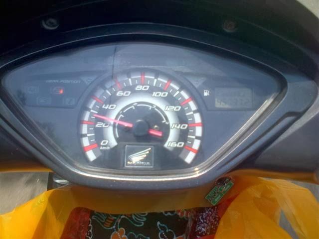 Kecepatan dibawah rata-rata. Unkown place.