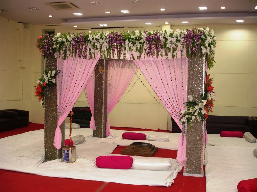 Wedding planner ring ceremony decoration in agra for Art decoration ideas