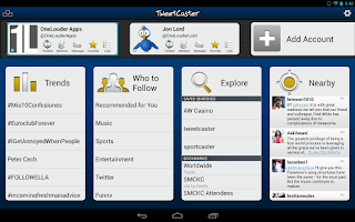 TweetCaster Pro for Twitter Android App