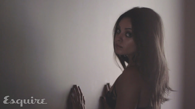 Mila Kunis Esquire hot November 2012 Photoshoot