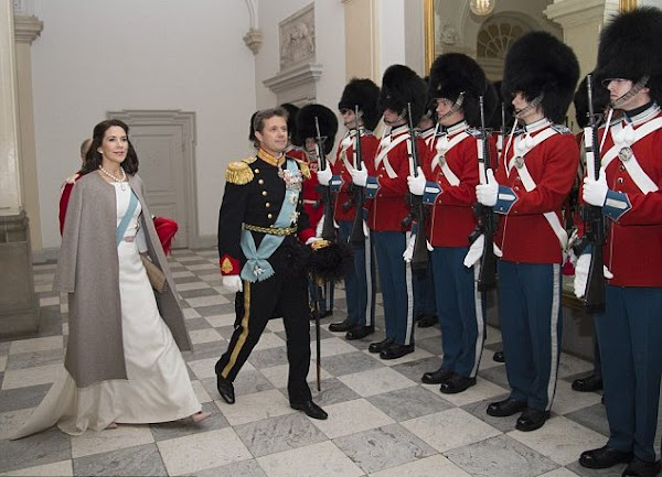 Danish royal family at new year diplomatic reception 2016 queen margrethe ii of denmark crown princess mary crown prince frederik of denmark participated sciox Image collections