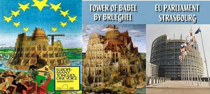 TowerofBabelEU Το κρυφό μήνυμα του κτιρίου του Ευρωπαϊκού Κοινοβουλίου