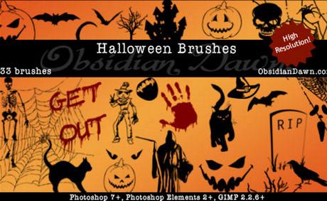 Brushes de Halloween