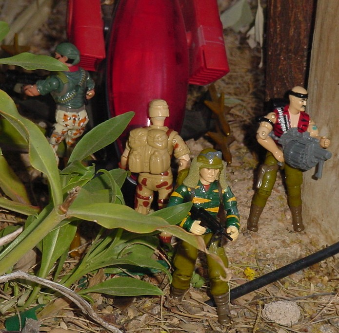 1988 Tiger Force Dusty, 1993 Duke, Gung Ho, 2004 Desert Patrol Tunnel Rat