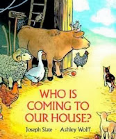 bookcover of Who Is Coming To Our House?  (Board Book)  by Joseph Slate