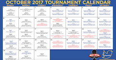 October Tournament Calendar