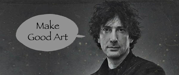 Neil Gaiman says: