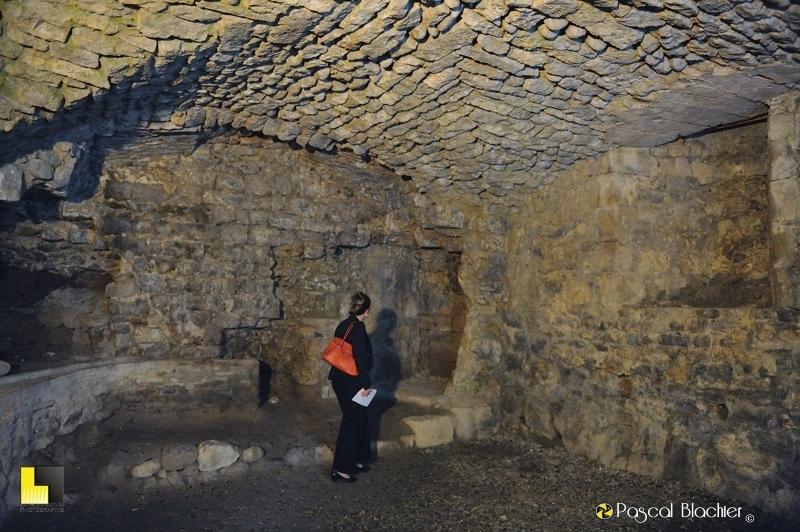 les anciennes cuisines du château de Vogüé photo blachier pascal