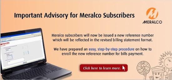 BPIExpress Online MERALCO advisory