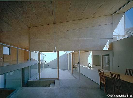 Arquitectura de casas residencia contempor nea con formas for Casa minimalista japon