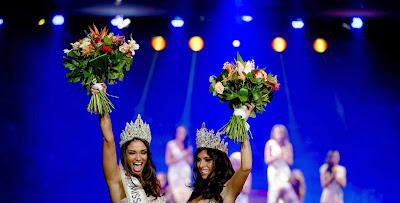 Tatjana Maul, Yasmin Verheijen, Celebrate, Elect, Miss, Netherlands, World, Universe, Beauty, Pageant, Hilversum, Showbiz, Contest,