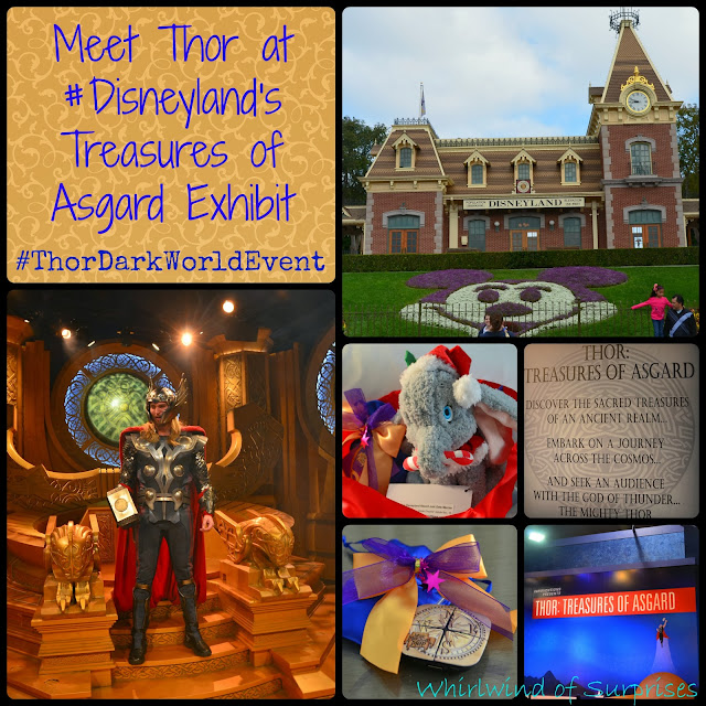 Meet Thor at the Thor: Treasures of Asgard Exhibit, #Disneyland, #ThorDarkWorldEvent