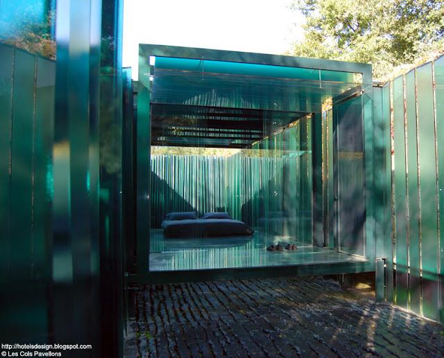 les plus beaux hotels design du monde les cols pavellons by rcr arquitectes olot espagne. Black Bedroom Furniture Sets. Home Design Ideas