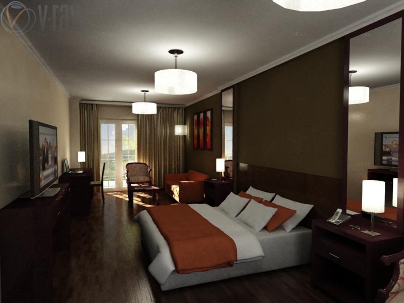 render on render habitacion suite junior hotel amerian