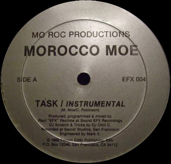 Morocco Moe - Task - I Rest My Case(Vinyl,12'' 1988)(Mo Roc Productions)