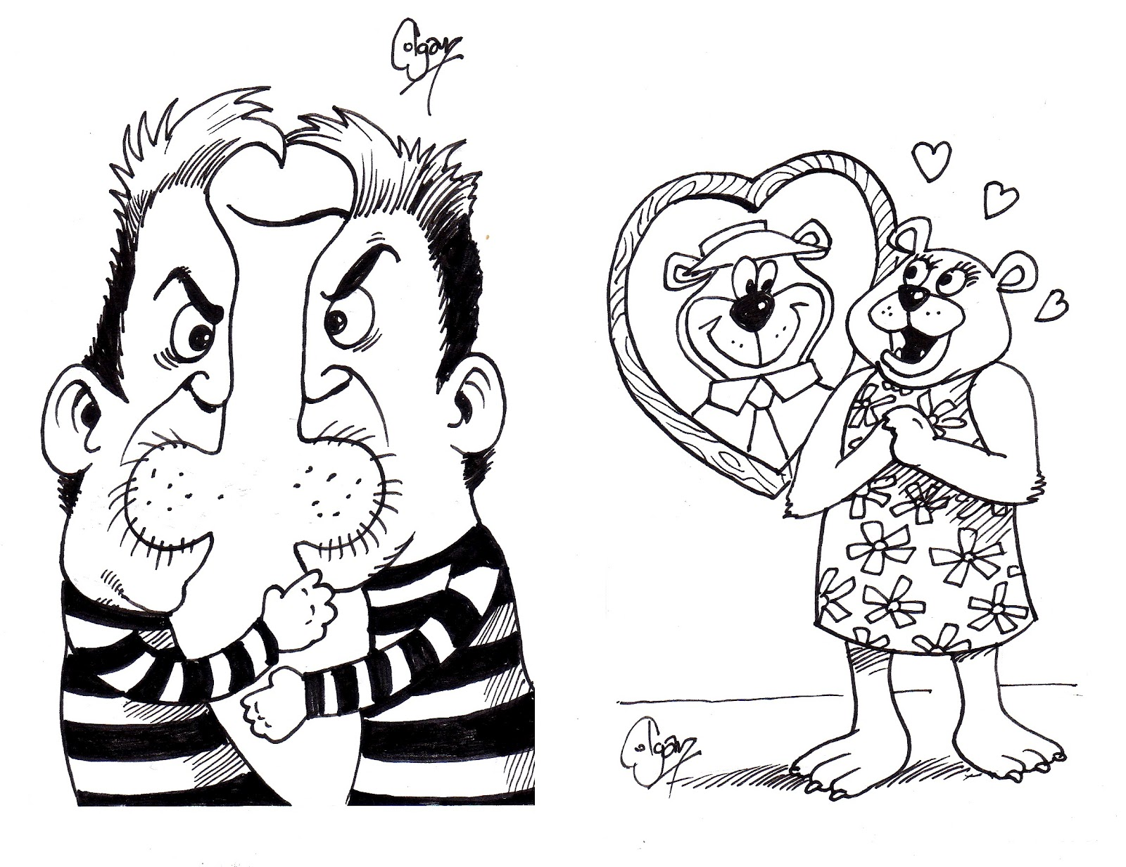Colganology the 100k doodle competition for Love doodles to draw