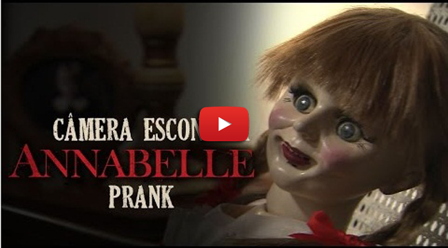 Watch the Doll 'Annabelle' in Scary Prank on Viral Video
