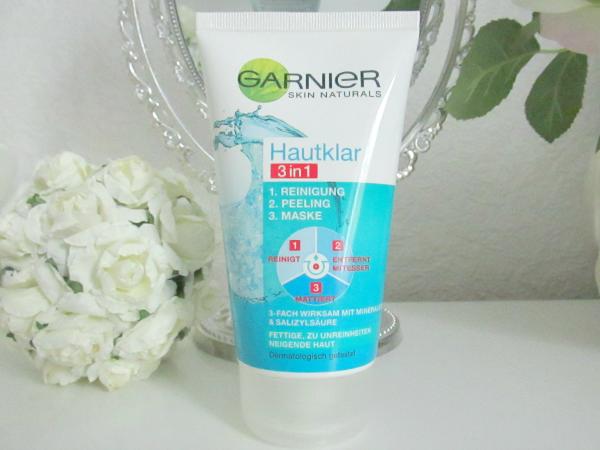 Garnier Hautklar 3in1 Reinigung, Peeling & Maske - 150ml ca. 4.00 Euro