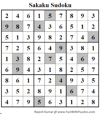 Sukaku (Daily Sudoku League #105) Solution