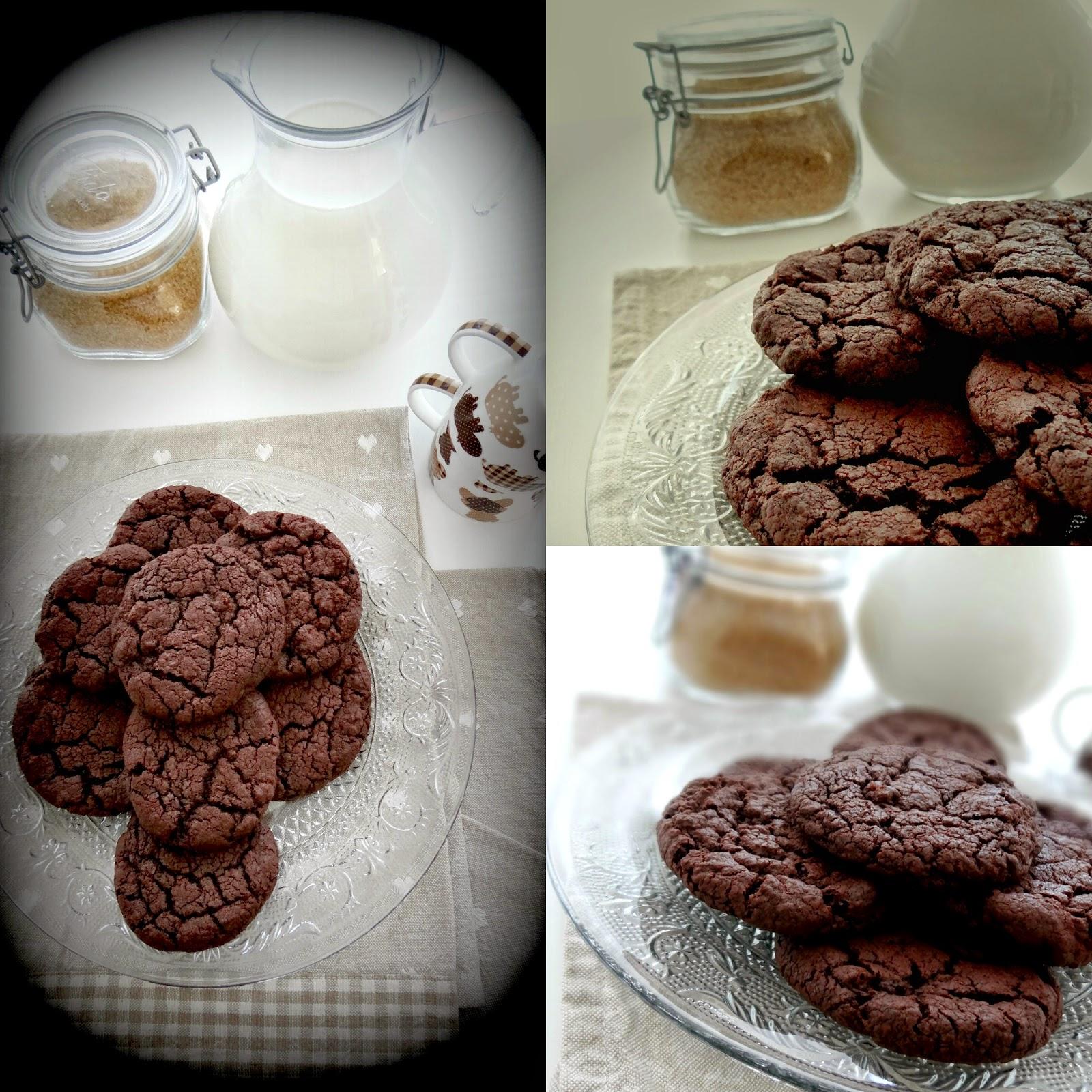 Biscotti al doppio cioccolato d Donna Hay