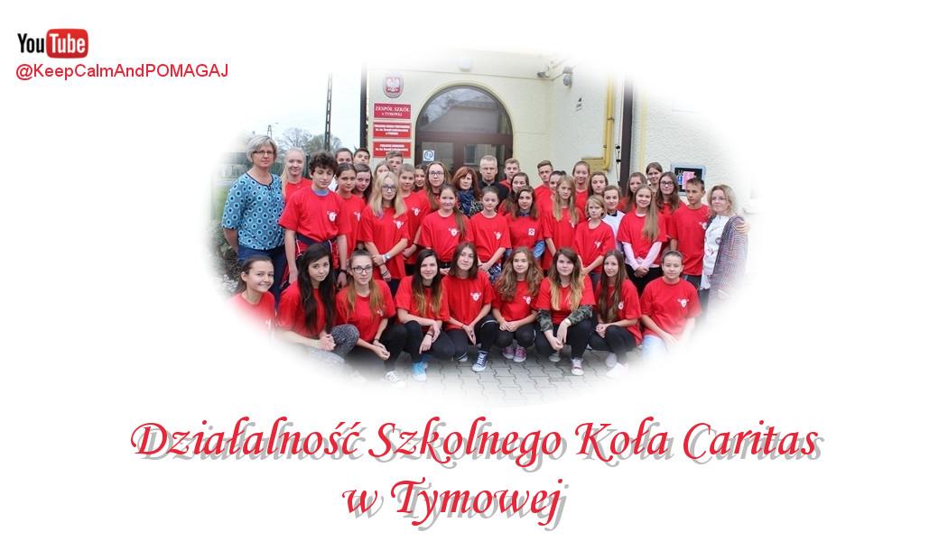 Działalność Szkolnego Koła Caritas w Tymowej