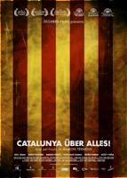 Cartell Catalunya Über Alles! Vuitena Nit Jove de Cinema Solidari. Girona.