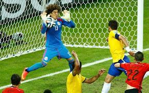 Brasil 0x0 México - 2014