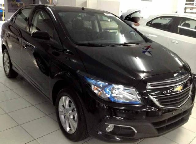Novo Chevrolet Prisma 2014 (Onix sedã)