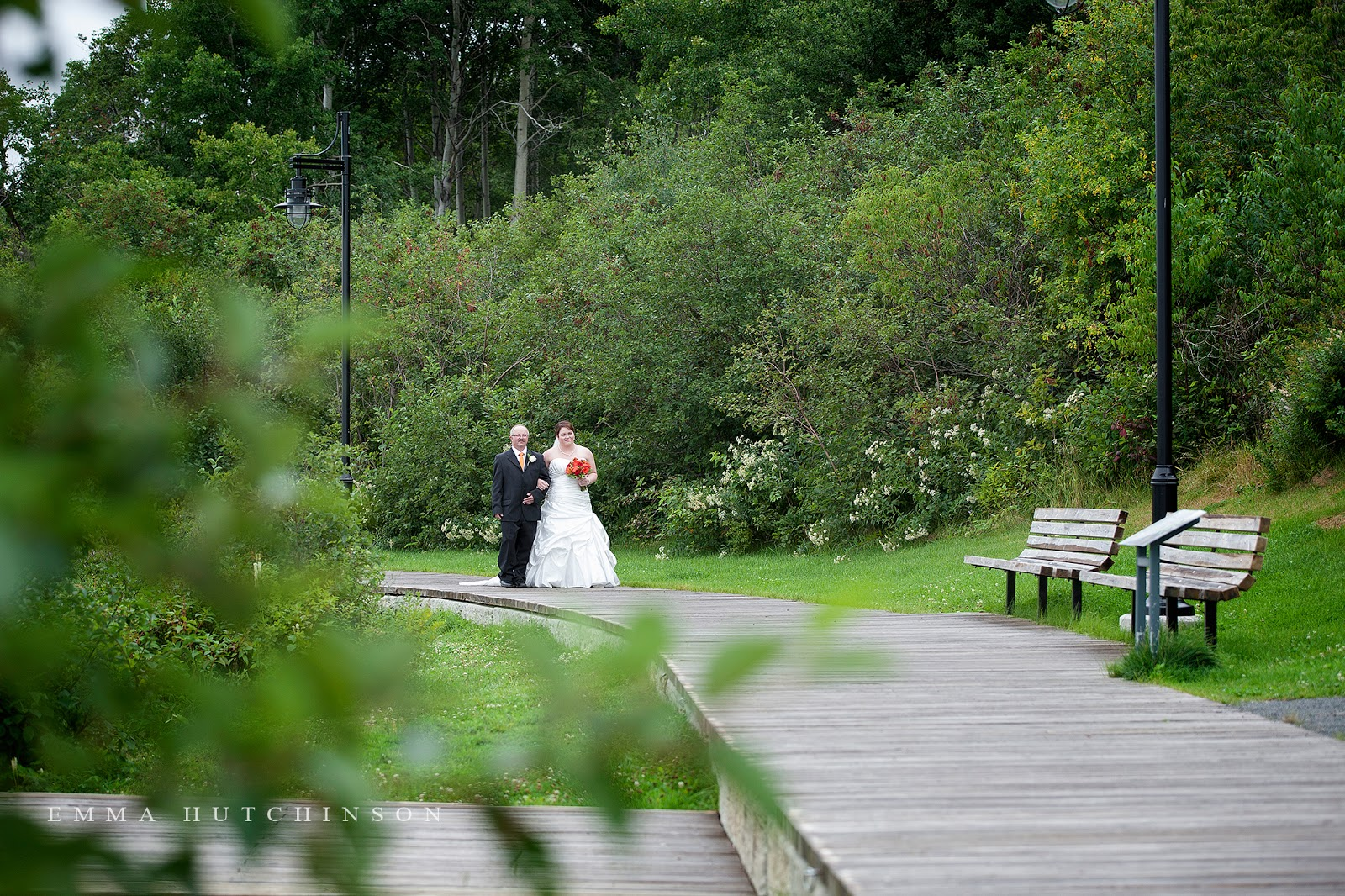 emma hutchinson photography photographs weddings at Gorge Park in Grand Falls-Windsor