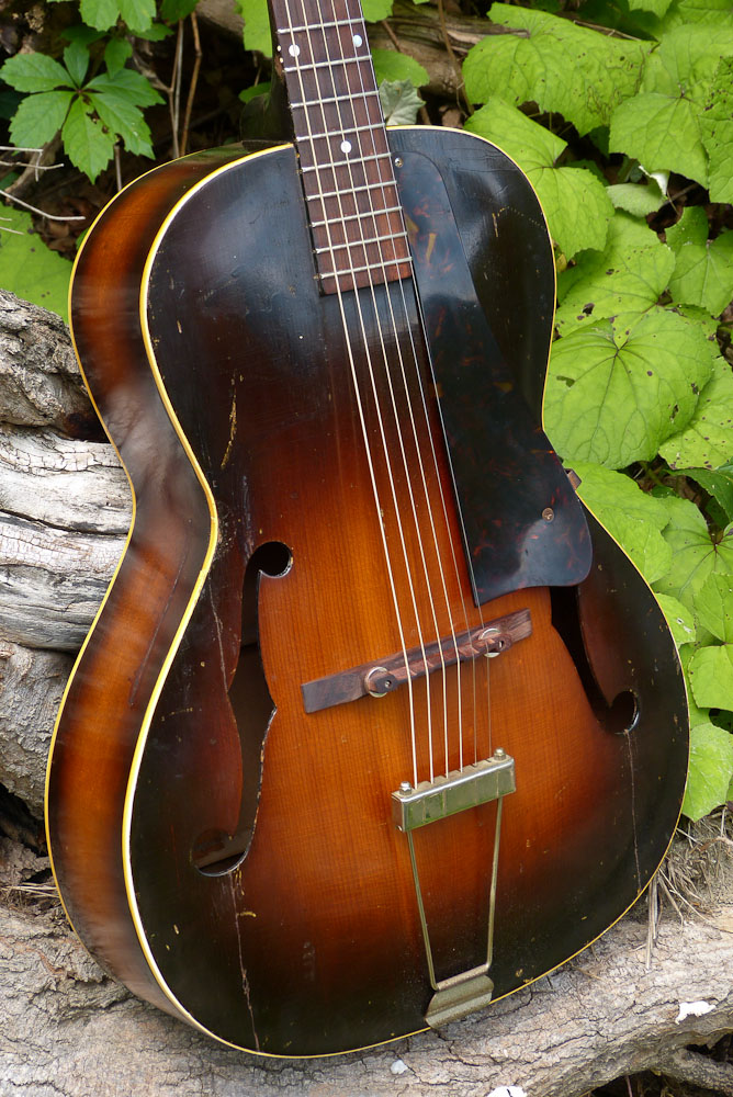 Jake Wildwood 1941 Gibson L 30 Carved Top Archtop Guitar