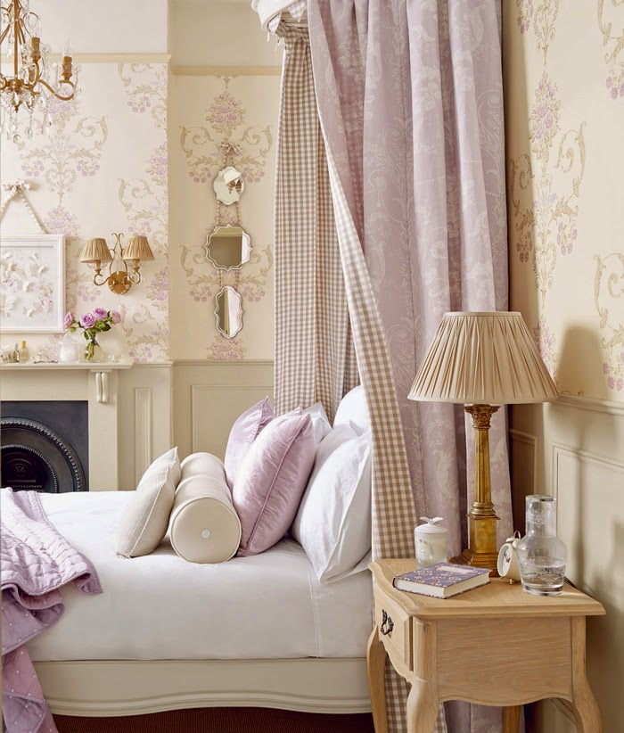 Decor Inspiration Pale Shades Of Lilac Natural Beige