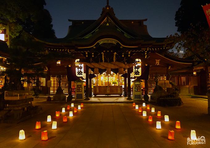 Hakata Okunchi Festival, Kushida shrine, Fukuoka