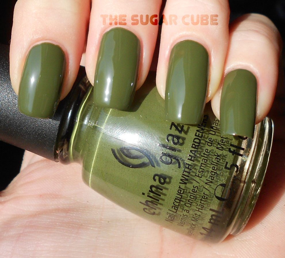 The sugar cube china glaze weekend warrior awesome blogs application again china glaze nvjuhfo Gallery