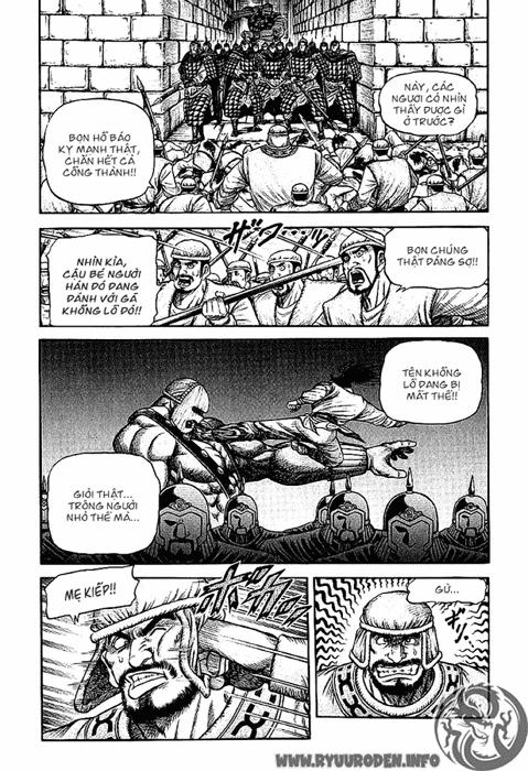 Chú Bé Rồng - Ryuuroden chap 125 - Trang 16