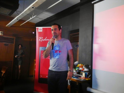 Xiaomi VP for International Hugo Barra