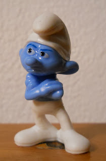 magic kinder smurfs