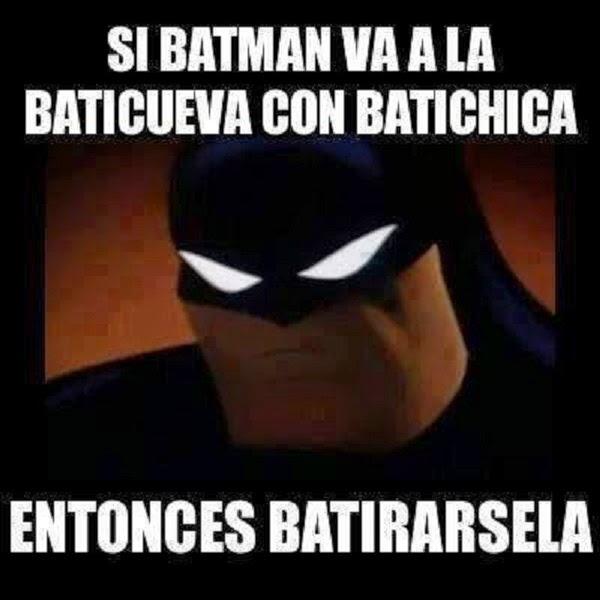 Batman con la Batichica