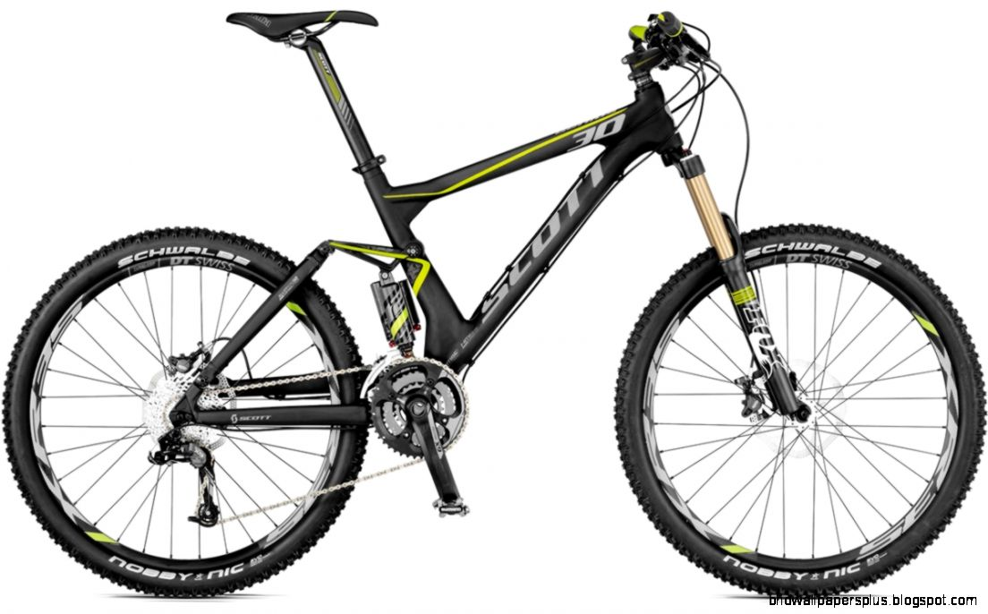 Scott Genius 30 Mountain Bike 2012   Full Suspension MTB