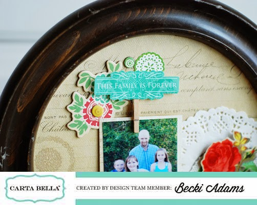 DIY Interchangeable Photo Frame by @jbckadams