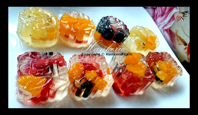Jelly Fruits Cake