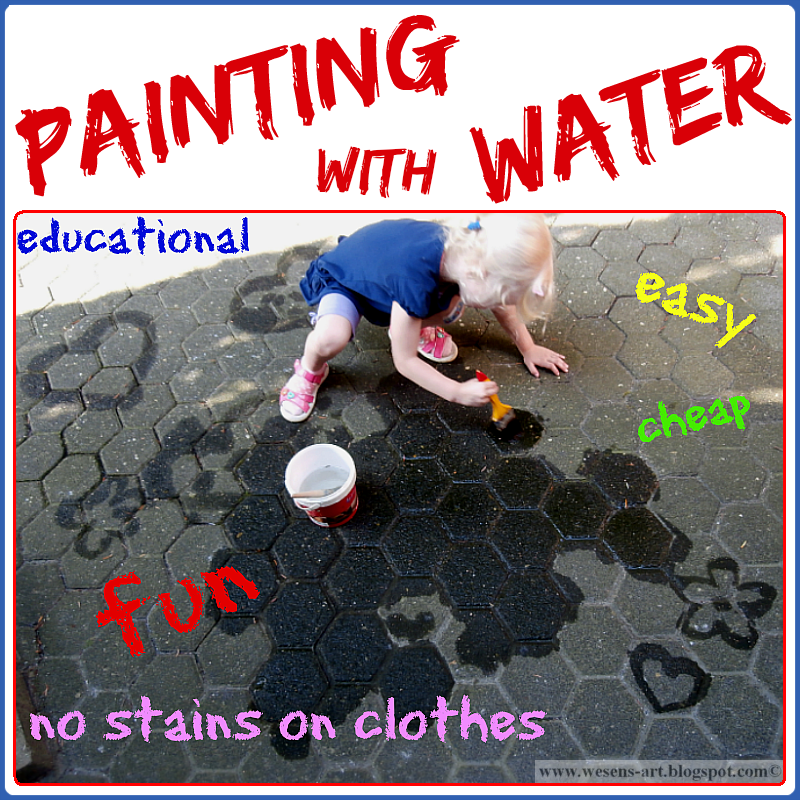 Painting with Water    wesens-art.blogspot.com