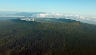Volcan Alcedo on Isabela Island, Galapagos