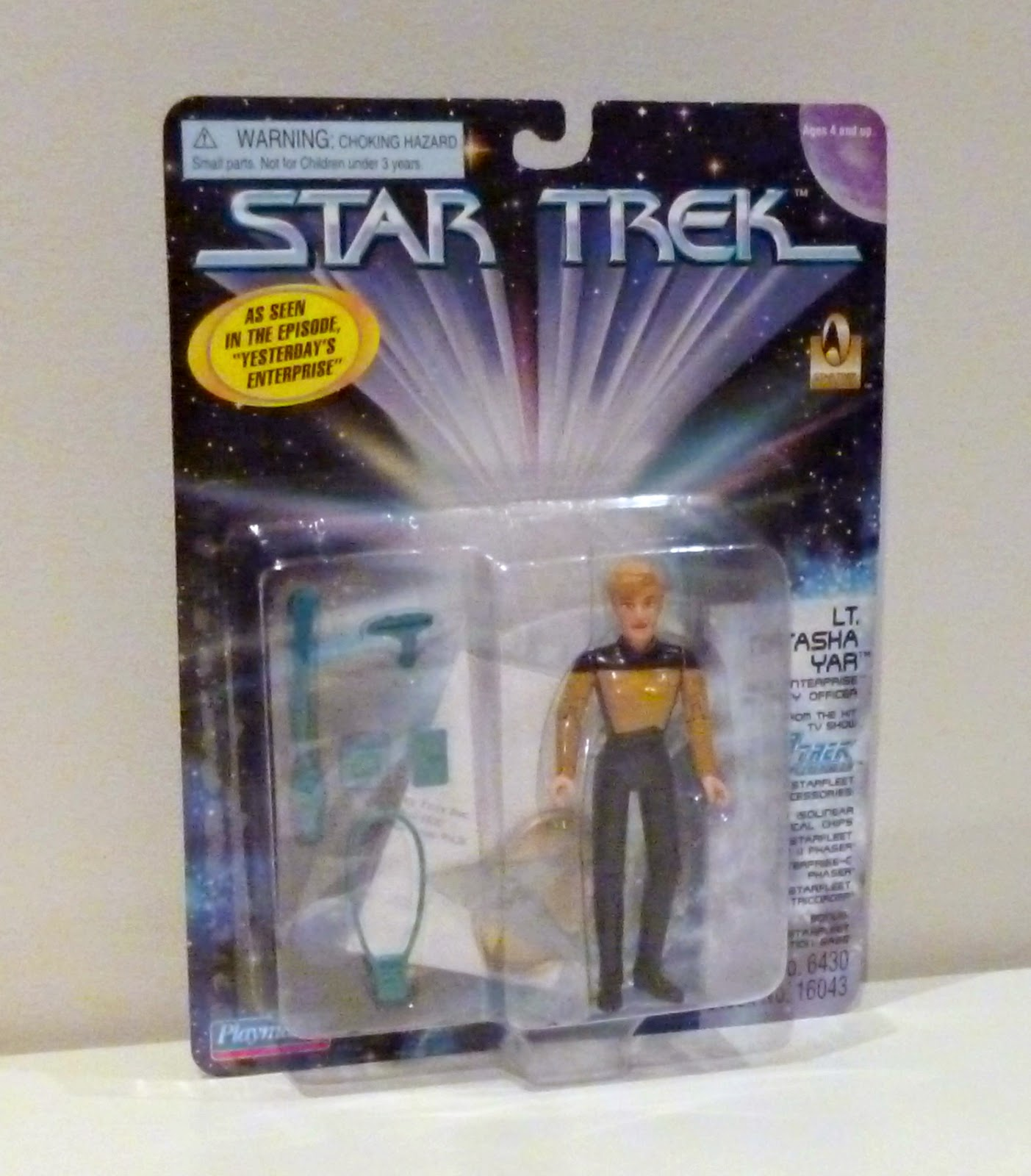 Star Trek Tasha Yar 1701 Playmates Action Figure