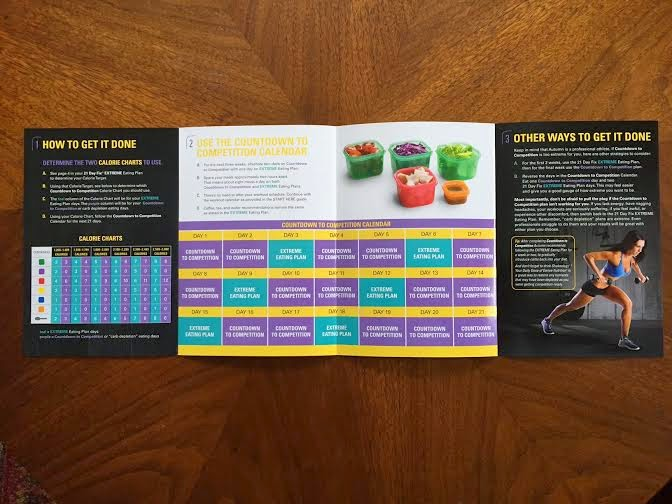 21 Day Fix Extreme Meal Plan | Shape Your Life