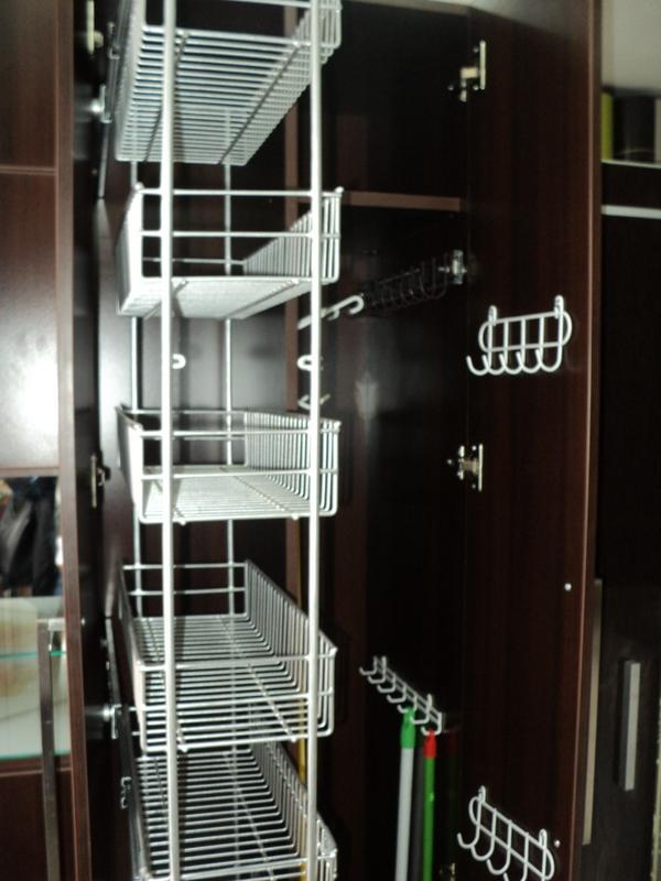 E y g proyectos integrales muebles en melamina aluminio for Organizadores para closet