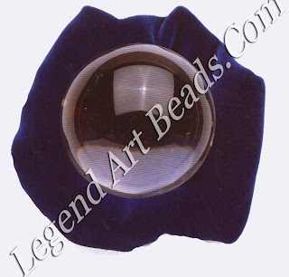 Quartz is the most popular material for crystal balls but other materials which have a shiny surface, such as mirrors, polished steel, and even the surface of water, have been known to have a satisfactory effect.