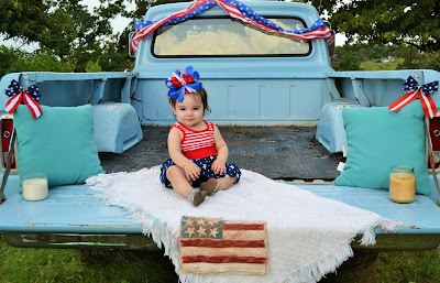 Emberlynn's 4th of July Picture