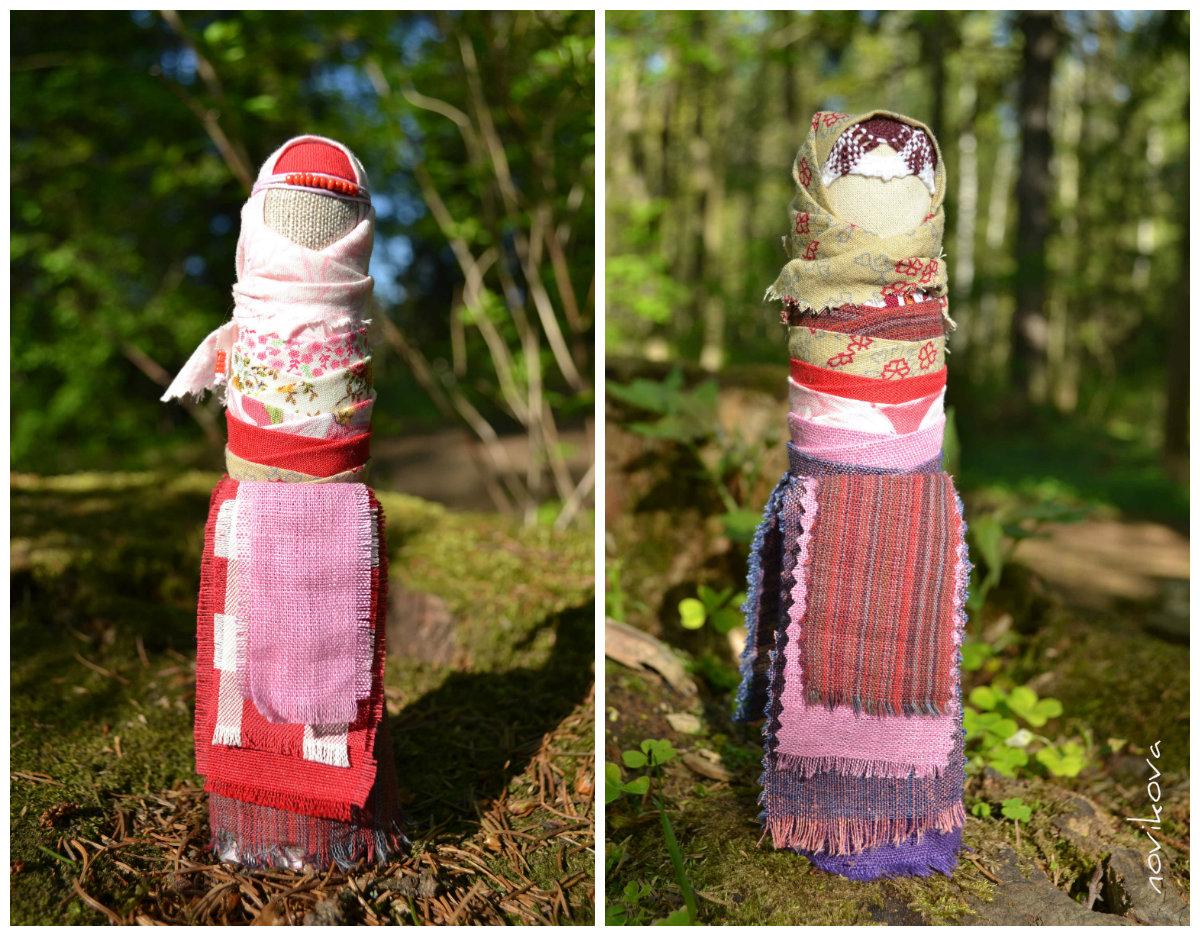 Народная обережная кукла-невеста