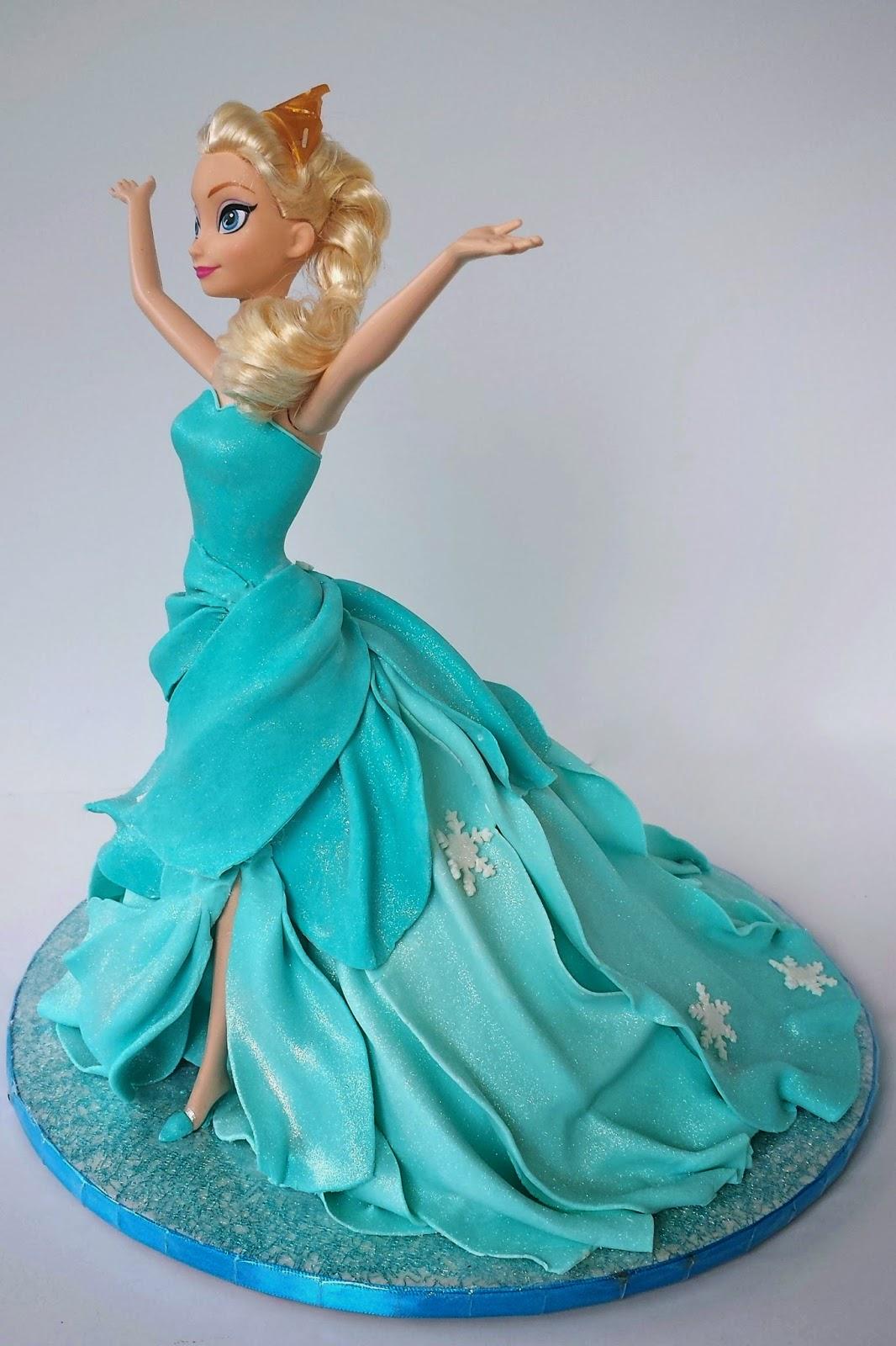 Elsa Doll Cake Images : Cake Blog: Elsa Doll Cake Tutorial