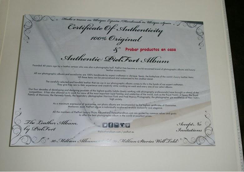 Piel Fort certificado